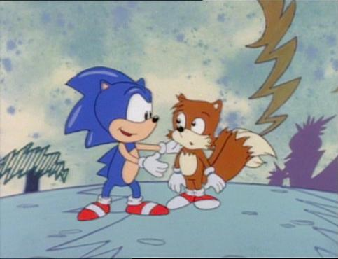 Tails  New Home. The Adventures of Sonic the Hedgehog   Netflix